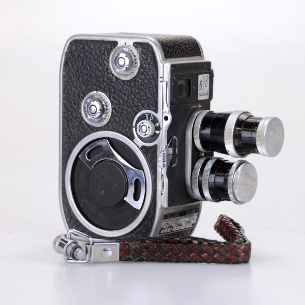 camera bolex paillard 8mm