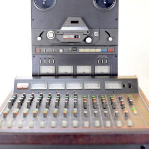 Tascam M-35 + Tascam 34 used