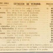 El Águila c/Preciados 3 Madrid 1881