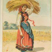 Almanaque Chocolate Amatller 1892